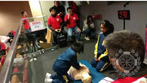 Cardio-Pulmonary Resuscitation (CPR) Marathon 2018